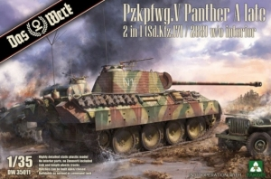 Pz.Kpfw. V Sd.Kfz.171/268 Panther Ausf.A model Das Werk in 1-35