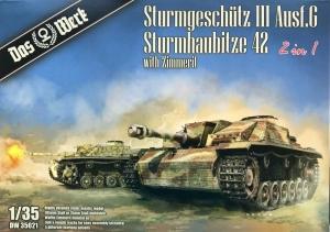 Sturmgeschutz III Ausf G / Sturmhaubitze 42 model Das Werk DW35021