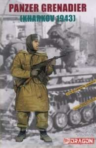 Panzer Grenadier Kharkov 1943 in scale 1-16
