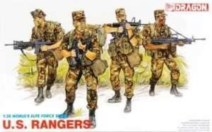 U.S. Rangers in scale 1-35 Dragon 3004
