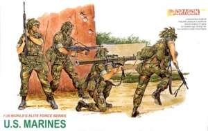 U.S. Marines in scale 1-35