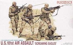 U.S. 101st Air Assault Screaming Eagles in scale 1-35