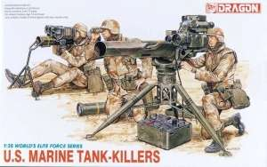 U.S. Marine Tank Killers in scale 1-35