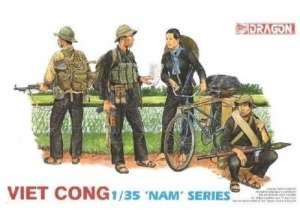 Viet Cong figures Dragon 3304 in 1:35
