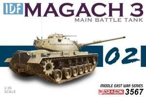IDF Magach 3 Main Battle Tank in scale 1-35