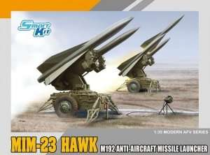 MIM-23 Hawk M192 Anti-aircraft Missile Launcher in scale 1-35