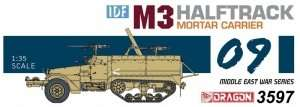 IDF M3 Halftrack Mortar Carrier in scale 1-35
