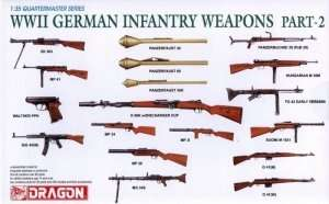 WWII German Infantry Weapons Part-2 in scale 1-35