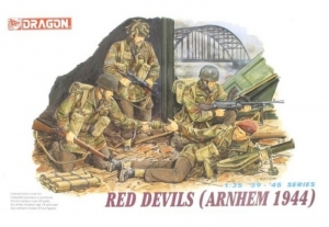 Red Devils Arnhem 1944 model Dragon 6023 in 1-35