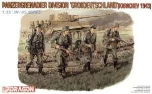 Figure Panzergrenadier Division Grossdeutschland in scale 1-35