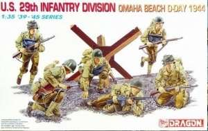 U.S. 29th Infantry Division (Omaha Beach, D-Day 1944) model Dragon in 1-35