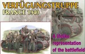 Figure Verfugungstruppe - France 1940 - in scale 1-35 Dragon 6309