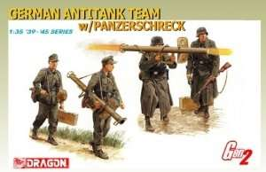 German Intitank Team w/Panzerschreck in scale 1-35