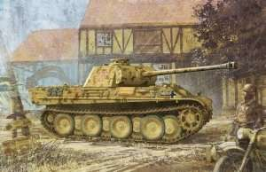 Tank Sd.Kfz.171 Panther G w/Zimmerit in scale 1-35