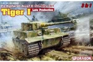 Pz.Kpfw.VI Ausf.E Sd.Kfz.181 Tiger I Late Production model Dragon in 1-35