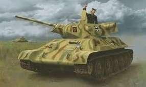 Panzerkampfwagen T34-747(r) in scale 1-35 Dragon 6449