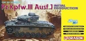 Tank Pz.Kpfw.III Ausf.J in scale 1-35 Dragon 6463