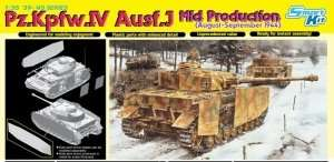 Pz.Kpfw.IV Ausf.J (Mid Production) in scale 1-35