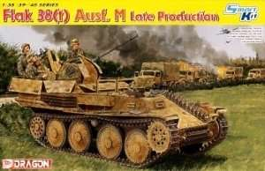 FlaK 38(t) Ausf.M Late Production in scale 1-35