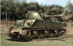 M4A3(75)W ETO Sherman in scale 1-35