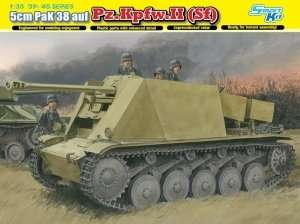 5cm PaK 38 auf Pz.Kpfw.II (Sf) in scale 1-35 Dragon 6721