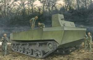 Various models of military vehicles -