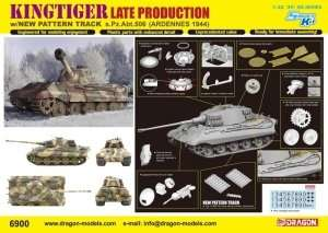 Kingtiger w/New Pattern Track s.Pz.Abt.506 Ardennes 1944 in scale 1-35