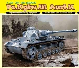 Tank Pz.Kpfw.III Ausf.K in scale 1-35
