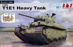 Heavy Tank T1E1 3 in 1 Black Label Dragon 6936 in 1-35
