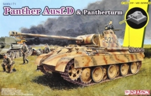 Sd.Kfz.171 Panther Ausf.D mit Pantherturm Dragon 6940 in 1-35
