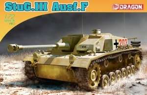 Model StuG.III Ausf.F in scale 1-72 Dragon 7286