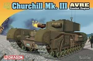 Churchill Mk. III AVRE in scale 1-72 Dragon 7327
