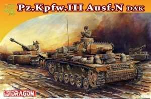Pz.Kpfw.III Ausf.N DAK model Dragon in 1-72