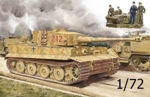 Dragon 7440 Pz.Kpfw.VI Ausf.E Tiger I Late Production w/Zimmerit + Tiger Aces