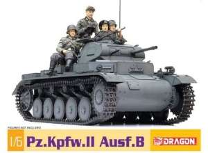 Pz.Kpfw.II Ausf. B in scale 1-6