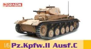 Pz.Kpfw.II Ausf.C in scale 1-6