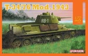 T-34/76 Mod.1943 model Dragon 7596 in 1-72