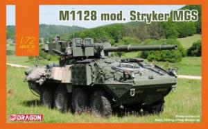 M1128 Mod. Stryker MGS model Dragon 7687 1-72