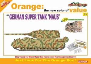 German Super Tank Maus with Figure set - in scale 1-35