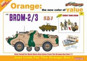 BRDM-2/3 model Dragon 9137 in 1-35