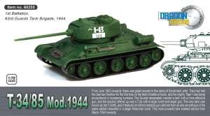 Tank T-34/85 Mod.1944 - ready model 1-72 Dragon Armor