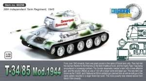T-34/85 Mod.1944 - ready model 1-72 Dragon Armor 60256