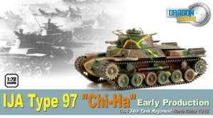Model IJA Type 97 Chi-Ha - ready model 1-72 Dragon Armor 60432