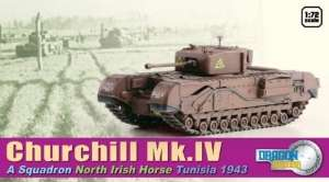 Churchill Mk.IV Tunisia 1943 - ready model 1-72