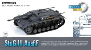 StuG.III Ausf.F - ready model Dragon Armor 60512 in 1-72