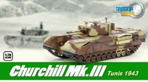 Churchill Mk.III Tunisia 1943 - ready model 1-72