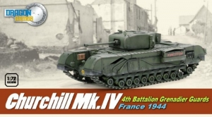 Tank Churchill Mk.IV - ready model 1-72 Dragon Armor