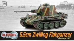 5,5cm Zwilling Flakpanzer Germany 1945 - ready model 1-72