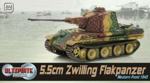 5,5cm Zwilling Flakpanzer - ready model 1-72 Dragon Armor 60643
