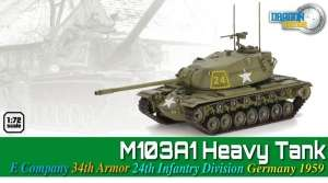 M103A1 Heavy Tank Germany 1959 - ready model 1-72